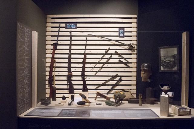 L'exposition Tu ne turas point au Musée des... (Stéphane Lessard)