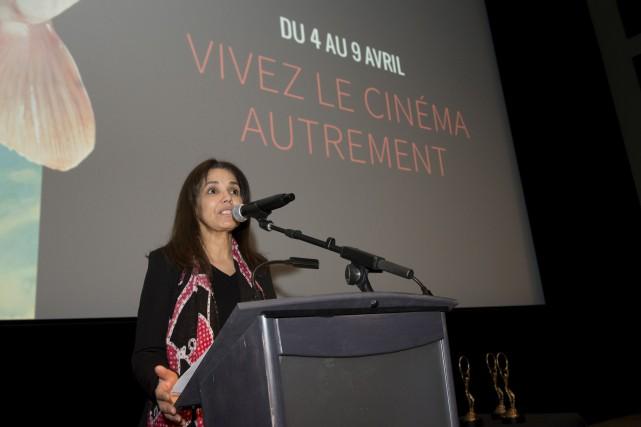 Malika Bajjaje, directrice générale du FCMS.... (Spectre Média, Maxime Picard)