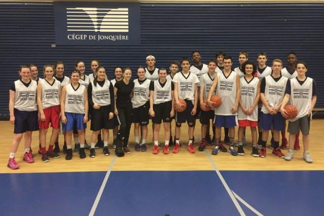 Saguenay Basketball a obtenu du financement de Basketball... (Photo courtoisie)