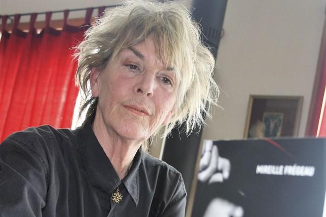 L'auteure Mireille Frégeau... (Jean-François Gagnon, La Tribune)