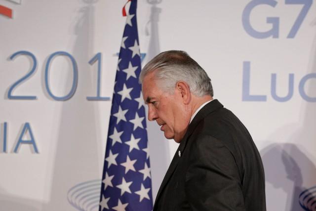 Le secrétaire d'État américain, Rex Tillerson.... (REUTERS)