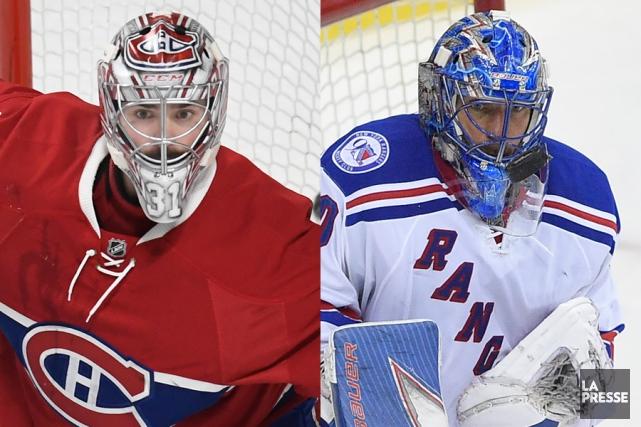 Carey Price et Henrik Lundqvist... (Photos La Presse et AP)