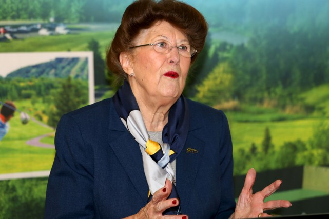 La mairesse de Bromont, Pauline Quinlan.... (Christophe Boisseau-Dion)