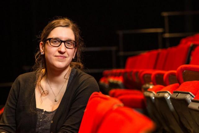 Catherine Léger est l'auteure de la pièce Baby-Sitter,... (Photo Hugo-Sébastien Aubert, Archives La Presse)