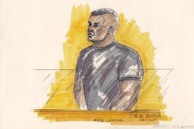 Moïse Latortue a plaidé coupable à l'accusation réduite... (illustration Bill Burelle, collaboration spéciale)