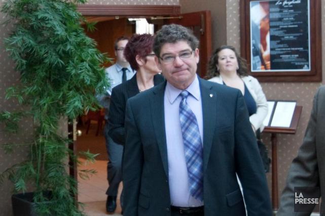 L'ex-leader parlementaire du Bloc québécois Pierre Paquette fait... (PHOTOIVANOH DEMERS, ARCHIVES LA PRESSE)