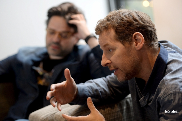 Alexis Durand-Brault et Gabriel Sabourin ont respectivement réalisé... (Le Soleil, Érick Labbé)