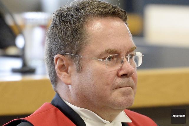 Le juge Richard Daoust... (Photo Le Quotidien, Jeannot Lévesque)