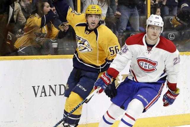 Bien que déçu l'an dernier que le Canadien... (AP, Mark Humphrey)