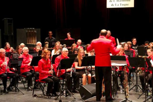 Le concert annuel de l'Harmonie de La Tuque... (Audrey Tremblay, Le Nouvelliste)