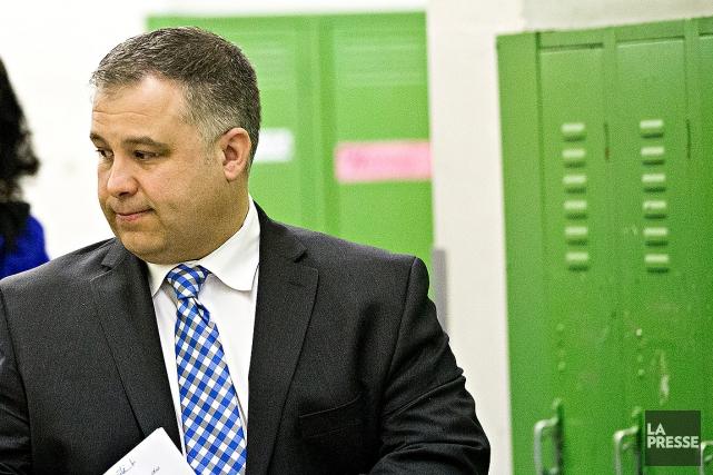 Le ministre de l'Éducation, Sébastien Proulx.... (Archives La Presse, Patrick Sanfaçon)