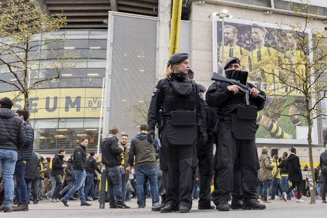 Le match Dortmund - Monaco a bénéficié d'une... (PHOTO AP)