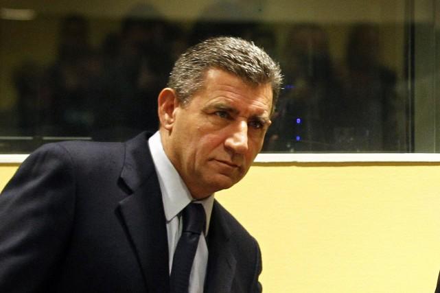 Ante Gotovina à La Haye en novembre 2012.... (ARCHIVES REUTERS)