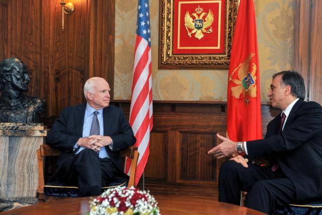 Le sénateur républicain John McCain, qui ne cache... (PHOTO AFP)