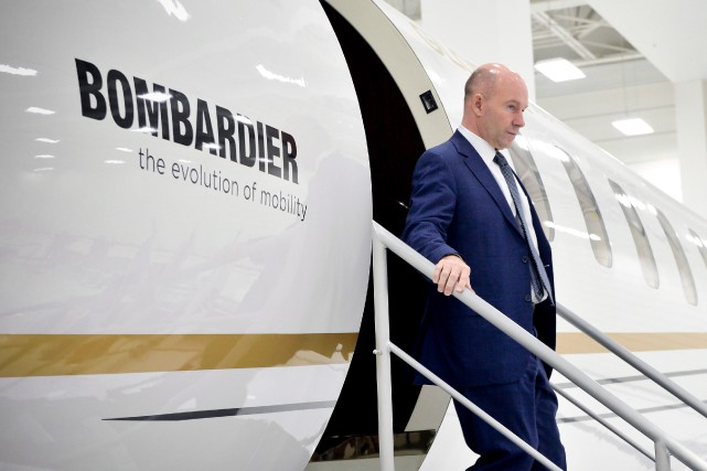 Avec l'injection massive de fonds publics, Bombardier, au... (Archives La Presse canadienne)