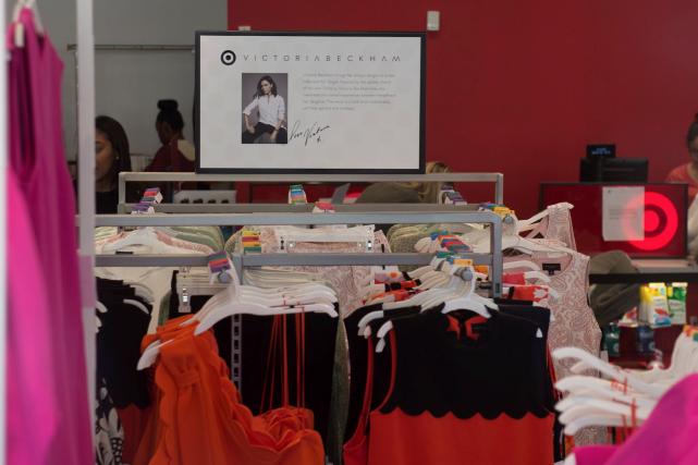 La collection VB x Target (Victoria Beckham for... (AFP, Bryan R. Smith)