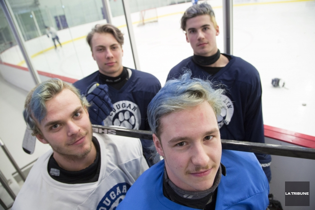 David Laroche, Tristan Kleine-Fournier, Marc-Olivier Girard et William... (Archives, La Tribune)
