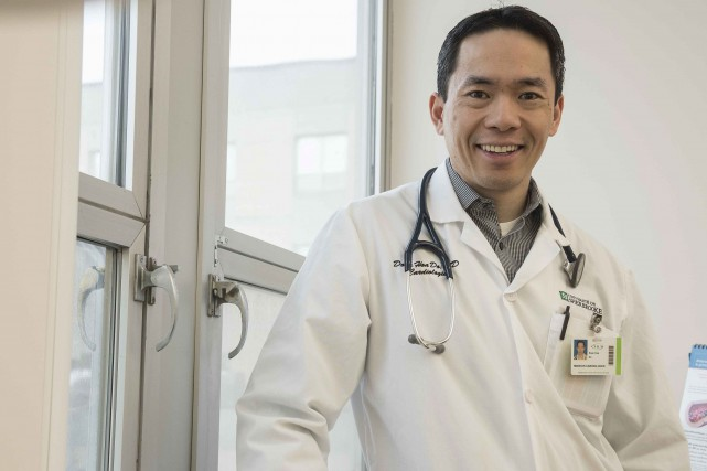 Le cardiologue Doan Hoa Do a voulu que... (Spectre Média, Frédéric Côté)