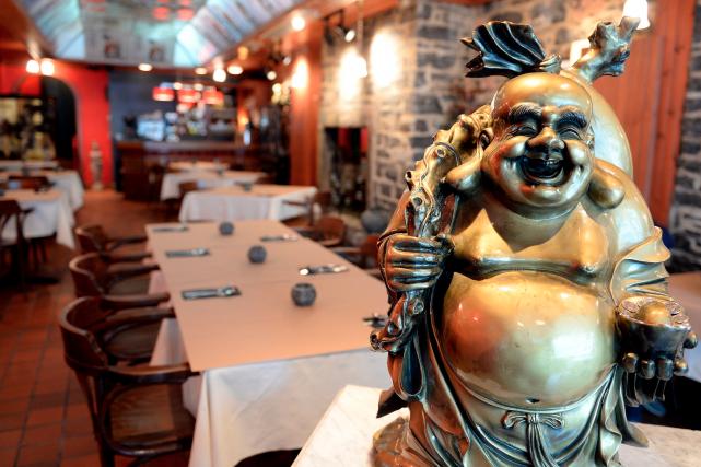 Véritable institution dans le Vieux-Québec, le restaurant à... (Le Soleil, Erick Labbé)
