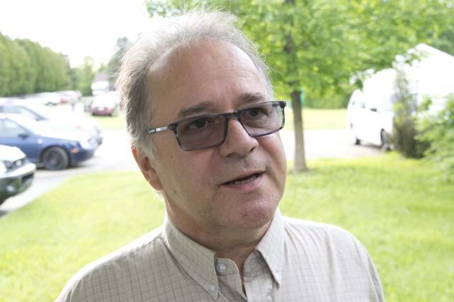 Claude Vaugeois, ex-président de l'APL.... (Sylvain Mayer, Le Nouvelliste)