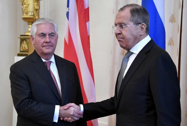 Le secrétaire d'État de Trump, Rex Tillerson, a... (AFP, Alexander Nemenov)