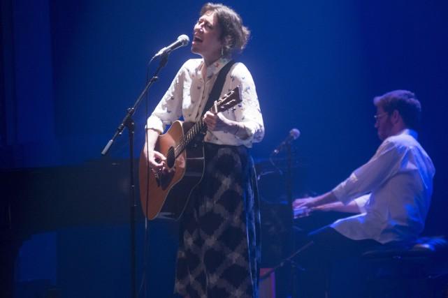 Martha Wainwright a offert une magnifique performance au... (Spectre Média, Julien Chamberland)