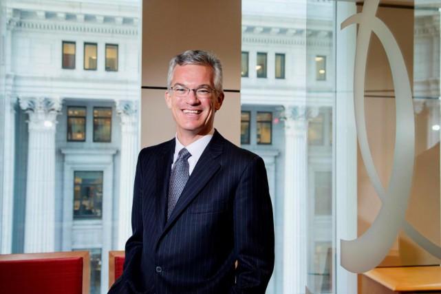 Michael Denham, PDG de la Banque de développement... (photo alain roberge, la presse)