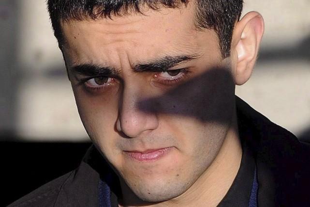 Hamed Mohammed Shafia arrive au palais de justice... (La Presse Canadienne, Sean Kilpatrick)