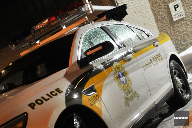 Les policiers de la Sûreté du Québec ont... (Archives Le Quotidien, Rocket Lavoie)