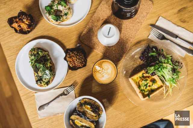 Il y a plusieurs raisons d'aimer le Crew Collective&Café. (Photo La Presse)