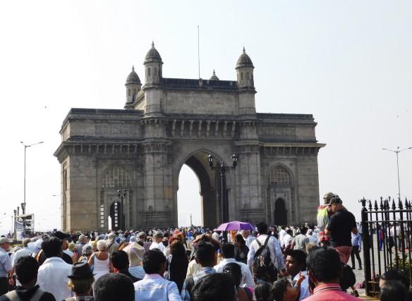 La Porte de l'Inde, un monument commémorant la... (Gilles Fisette, collaboration spéciale)