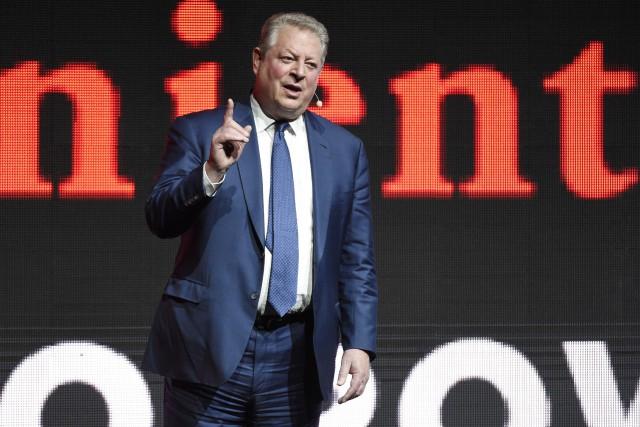 Al Gore présente le documentaire An Inconvenient Sequel... (PHOTO AP)