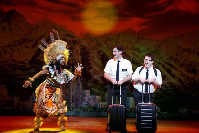 The Book of Mormon... (PHOTO FOURNIE PAR LA PRODUCTION)