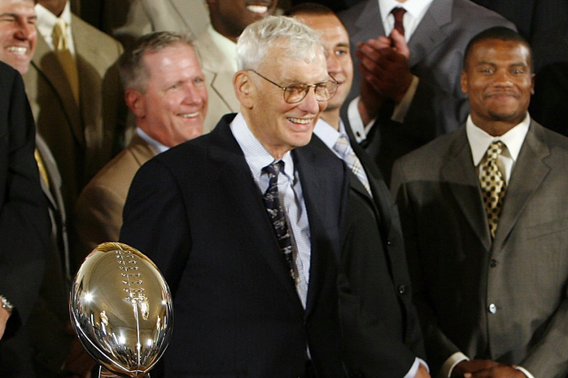 Dan Rooney a été un acteur important au sein... (Photo Chip Somodevilla, archives AFP)