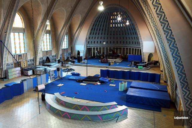 Le projet de transformation de l'église Christ-Roi en... (Le Quotidien, Rocket Lavoie)