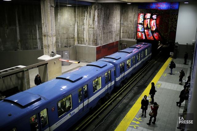 L'an dernier, le métro et les autobus de... (Photo Martin Chamberland, archives La Presse)