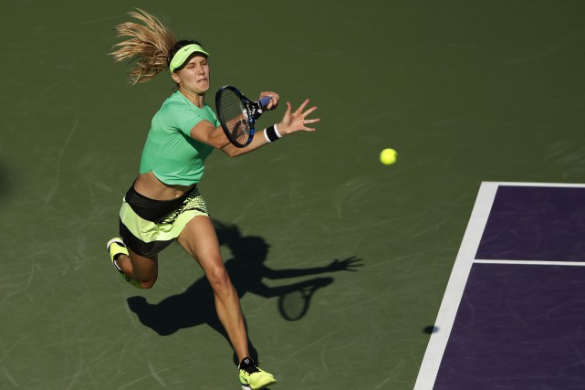 Eugenie Bouchard... (Photo Geoff Burke, archives USA TODAY Sports)