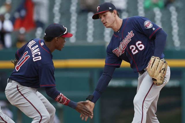 Les Twins ont pu éviter le balayage de... (Photo Rick Osentoski, USA TODAY Sports)