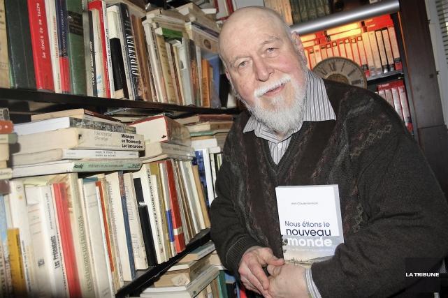 L'auteur et historien Jean-Claude Germain... (La Tribune, Jean-François Gagnon)