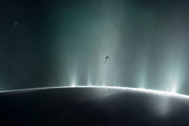 Les instruments de Cassini ont détecté cet hydrogène... (AFP, NASA)