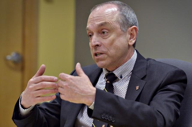 Inquiet pour la notoriété de l'Université Laval, Michel... (Le Soleil, Patrice Laroche)