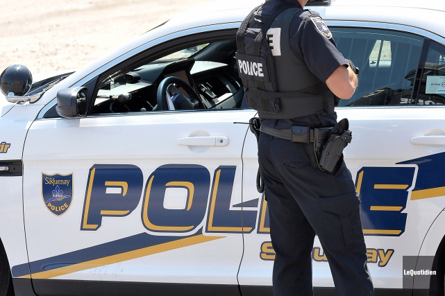 Les policiers de Saguenay demandent l'aide de la... (Archives Le Quotidien, Rocket Lavoie)