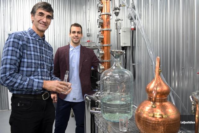 La Distillerie du Fjord a obtenu le prix... (Archives Le Quotidien, Rocket Lavoie)