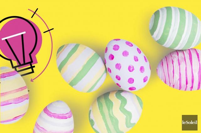 La chasse de Pâques en famille! (Infographie Le Soleil)