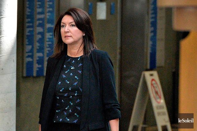 Nathalie Normandeau est accusée de fraude, complot, abus... (Photothèque Le Soleil Patrice Laroche)