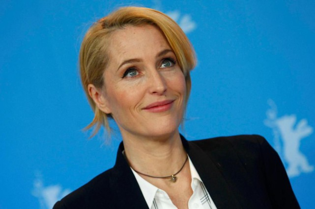 Gillian Anderson... (Photo Michele Tantussi, Archives Reuters)