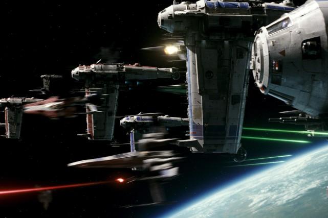 La première bande-annonce deStar Wars: les derniers Jedia... (AP)