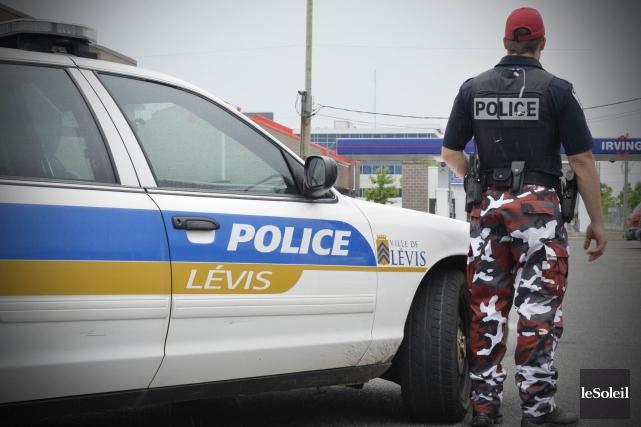 Le Service de police de la Ville de... (Photo Pascal Ratthé, archives Le Soleil)