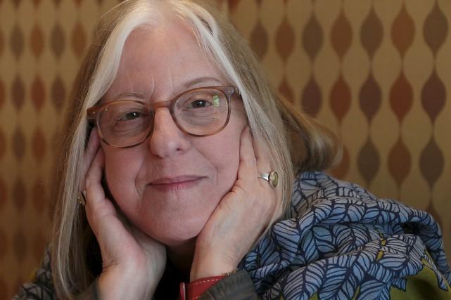 Andrée Lacelle,poète lauréate de la Ville d'Ottawa... (Etienne Ranger, Le Droit)