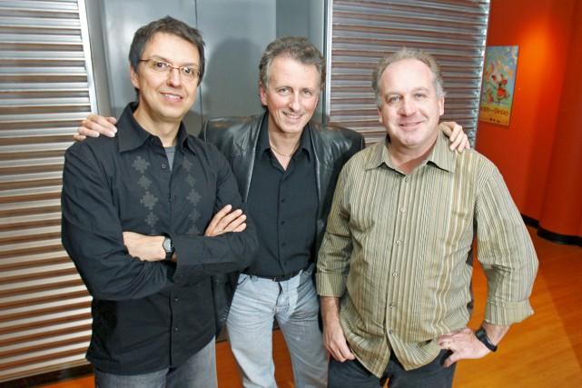 Le trio de jazz Uzeb, formé d'Alain Caron,... (Archives La Presse, Robert Mailloux)